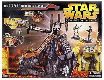 Amazon Com Hasbro Star Wars E3 Mustafar Playset Toys Games