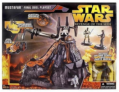 Star Wars E3 MUSTAFAR PLAYSET