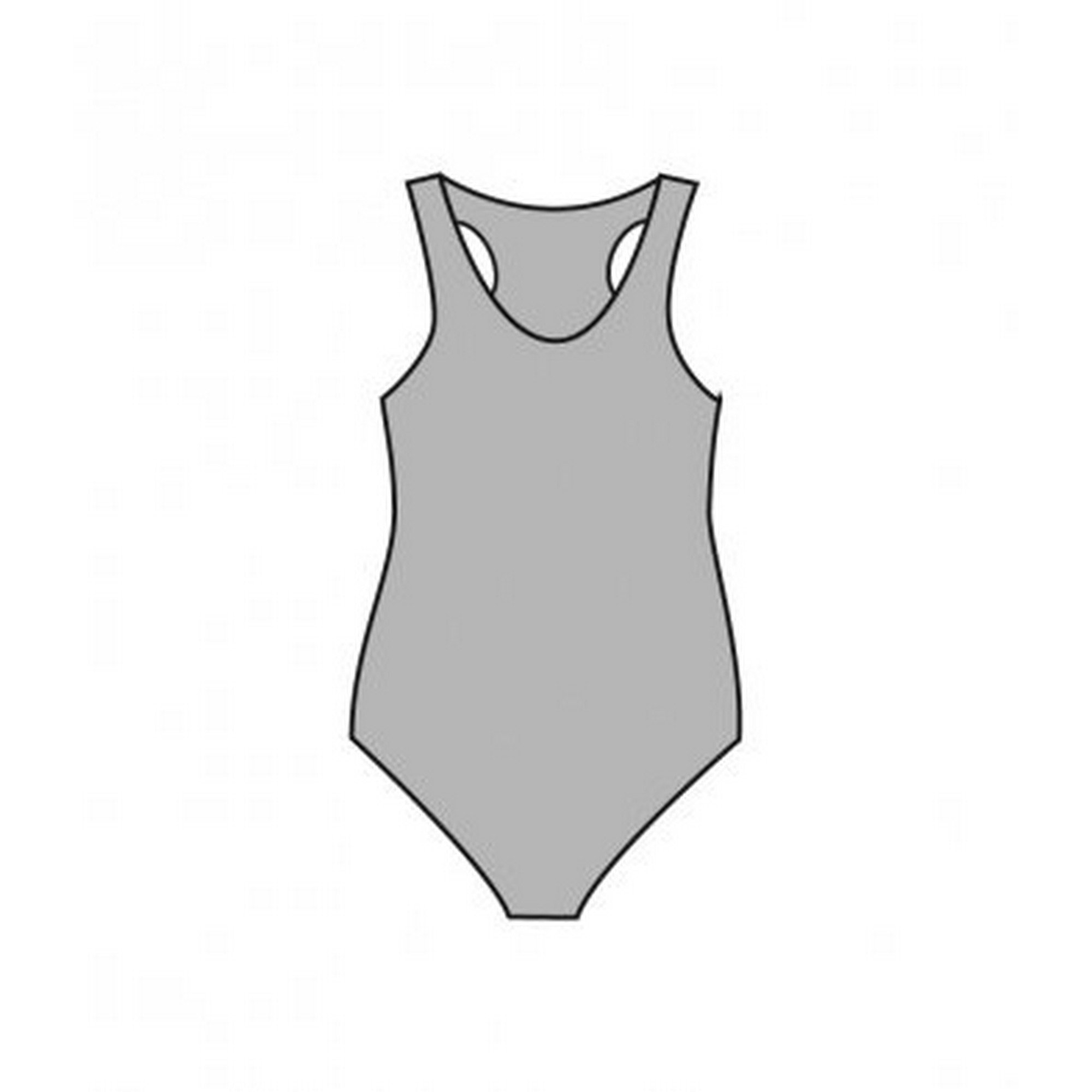 American Apparel Womens/Ladies Tank Thong Bodysuit (M) (Heather)