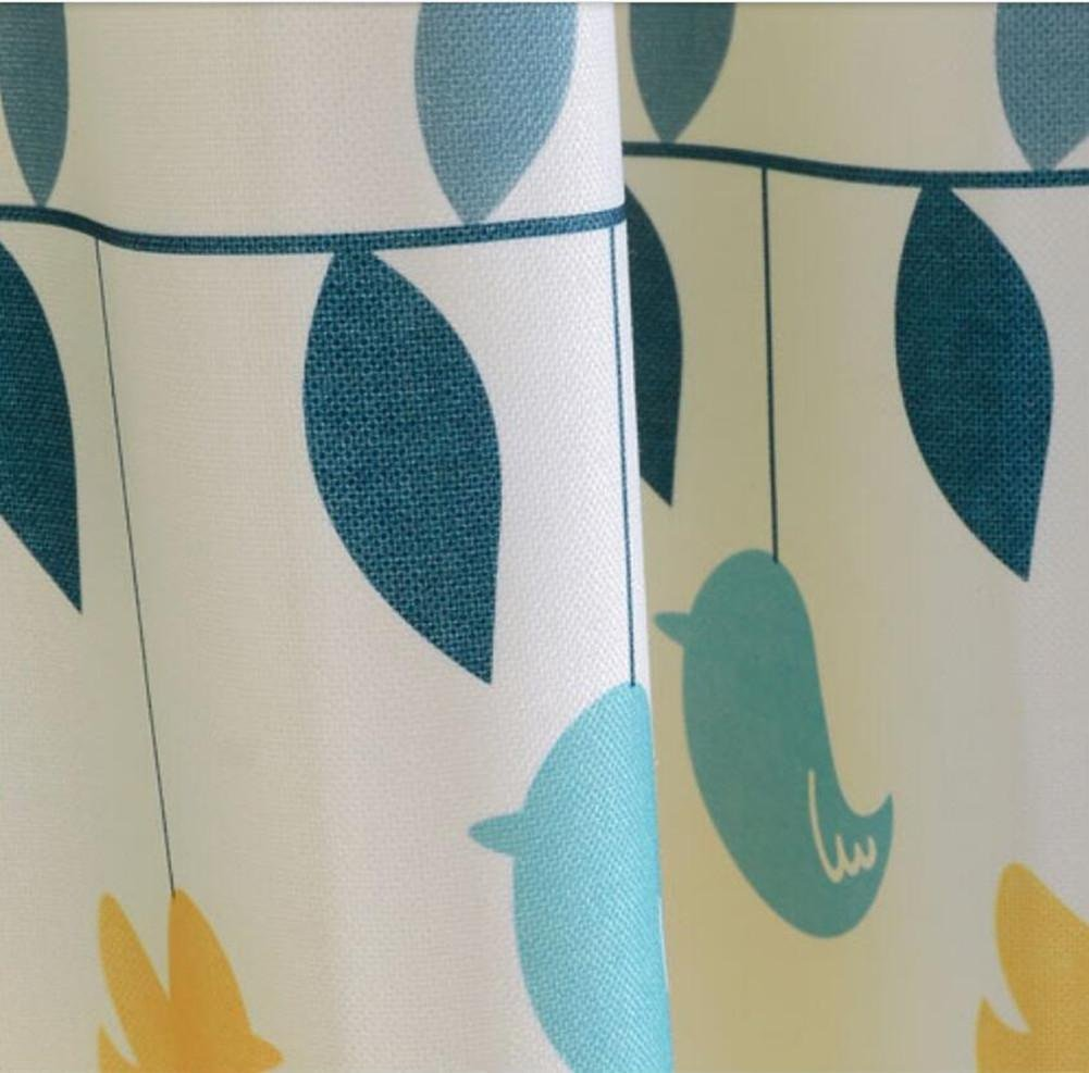 Baumwolle Vorhänge & Drapes Tuch Vorhang Fenster Behandlungen semi-shading ländlichen Fresh fertige Produkt Heißluftballon Cartoon Jungen Kinder Baby Zimmer Floating Vorhänge 1, 1pc(150x200cm)