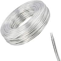 10M Cable Eléctrico de 2 Núcleos, PVC Cable Eléctrico de Alambre de Cobre,Cable Flexible Transparent, Anti-Oxidation…