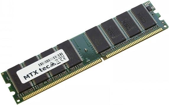 MTXtec Memoria de Trabajo 1GB RAM para Yakumo Q7M 2.2 DVD-RW XD: Amazon.es: Electrónica