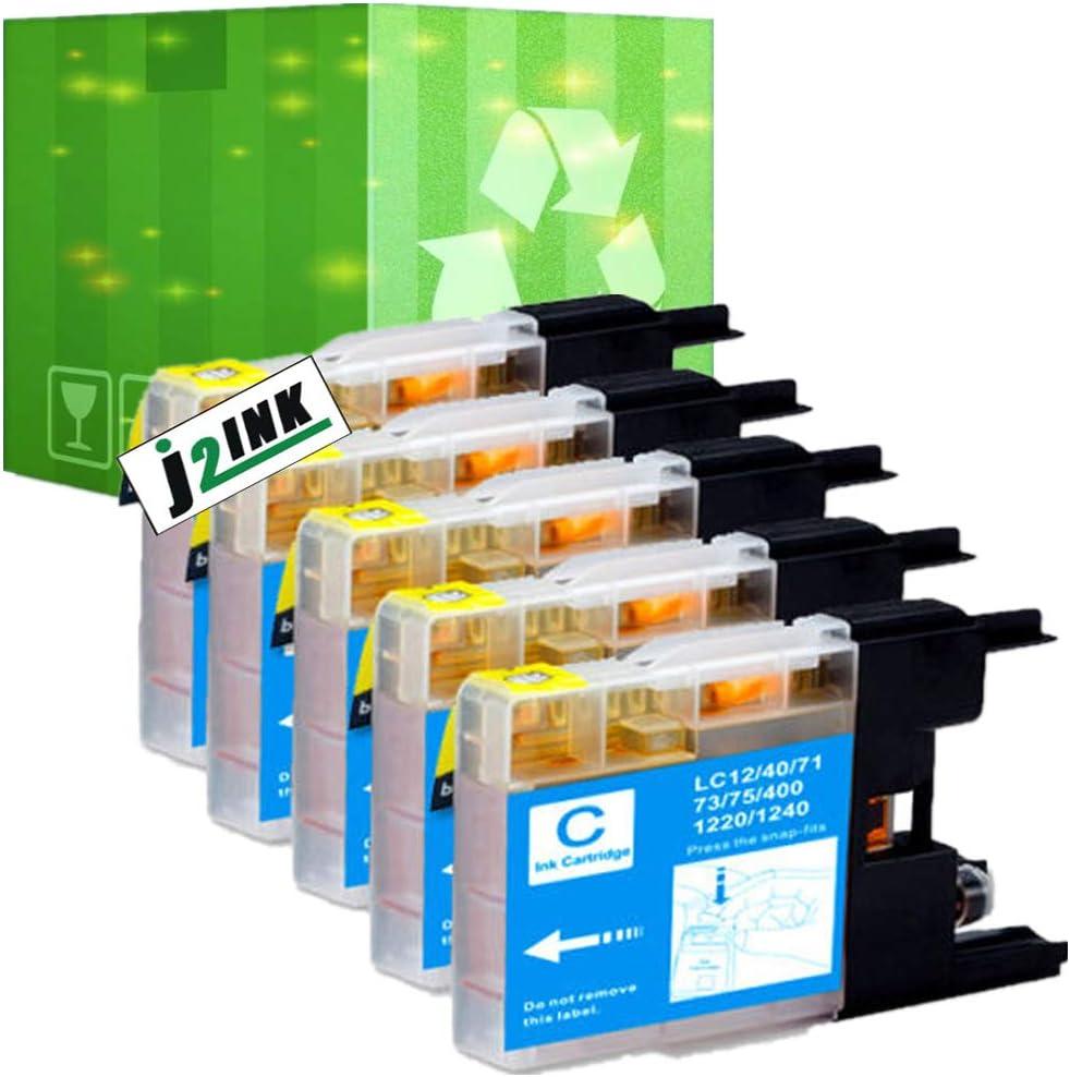 1 pack LC75C ink Cartridge fits  MFC-J280W MFC-J430W Printer USA SELLER!