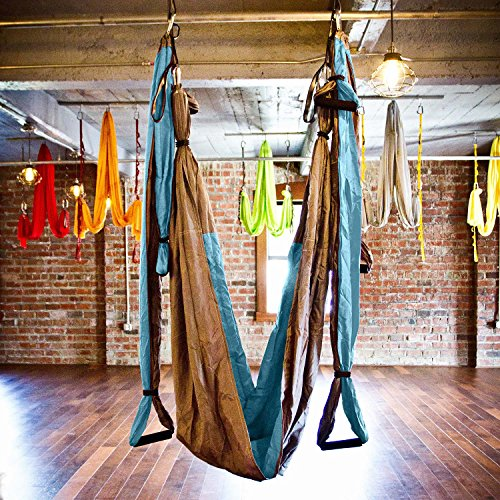 aerial yoga swing gym strength antigravity yoga hammock inversion trapeze sling exercise equipment with two extender aerial yoga swing   gym strength antigravity yoga hammock      rh   lifestyleupdated