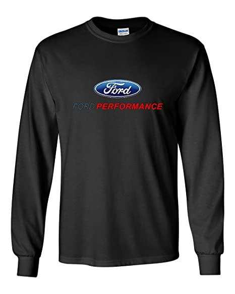 Ford Performance Long Sleeve T Shirt Ford Mustang Gt St Racing Black S