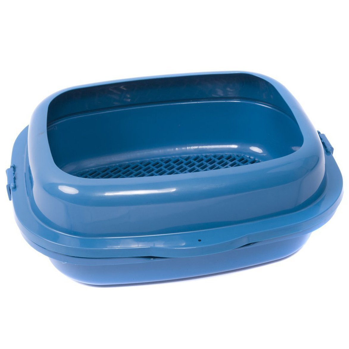 Favorite High Sided 19'' Double Trayed Pine Sifter Cat Litter Box