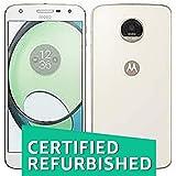 (Certified REFURBISHED) Motorola Z Play XT1635-02 (White, 32GB)