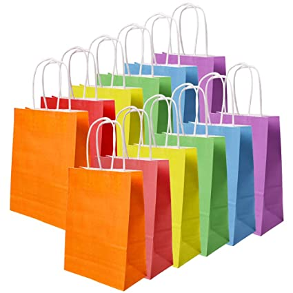 Amazon.com: JCREN - Bolsas de papel kraft para regalo ...