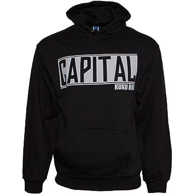 Capital Bra Bold Logo HOODY Schwarz
