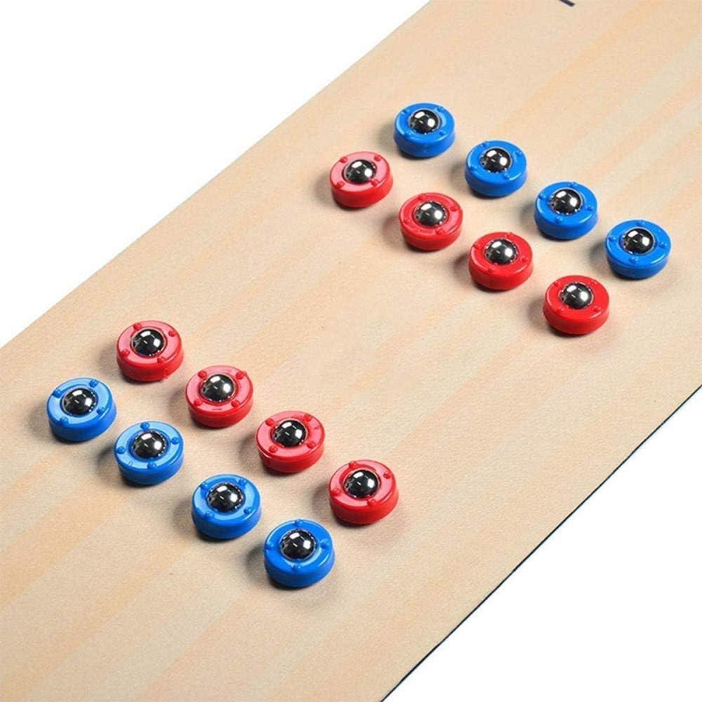 ZGS Multi plegable de peso ligero y portátil for fiestas juego de media Air Hockey Tabla juego Futbolín Mesa de ping pong Billar for Niños Adolescentes Diversión del juego multi mesa de