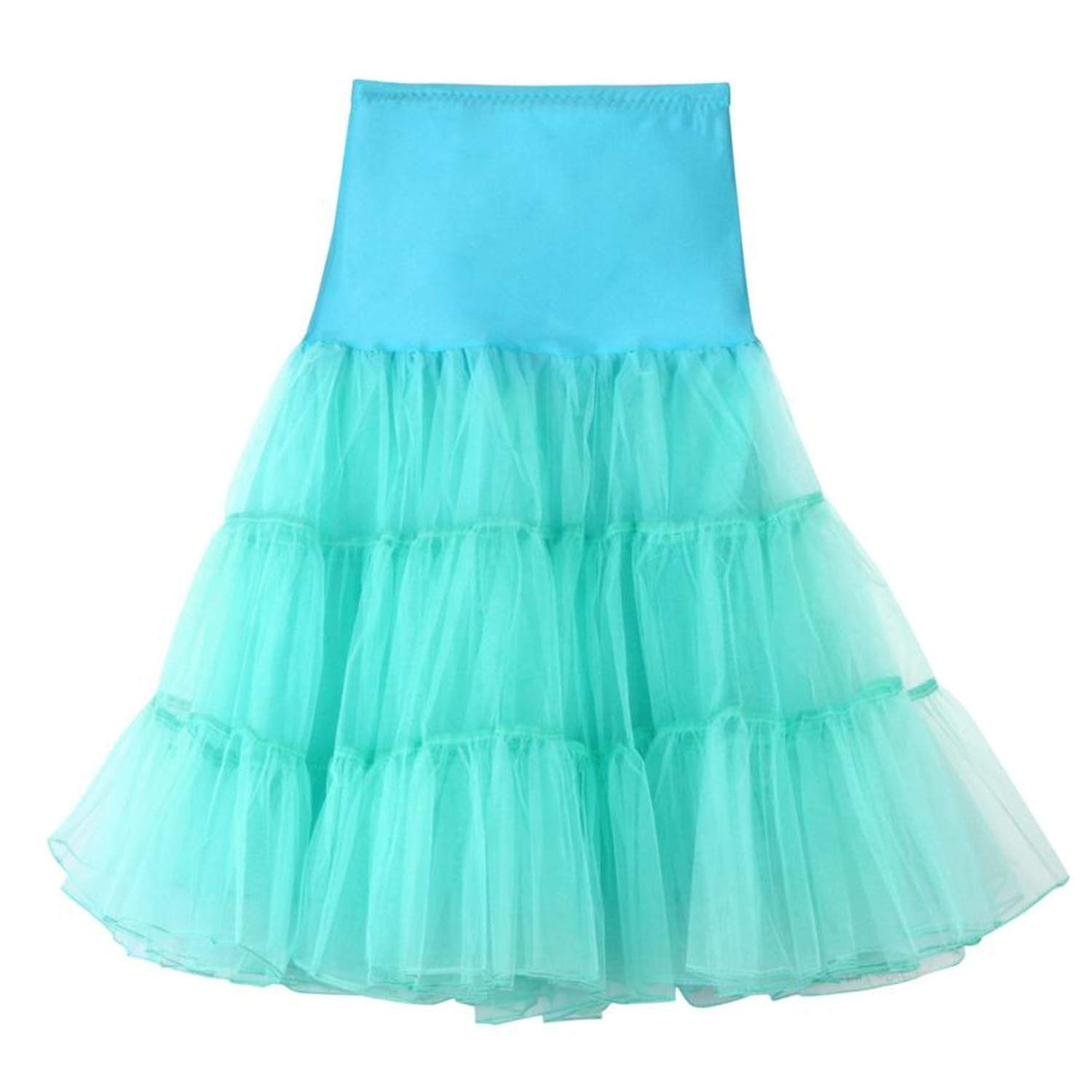 3169ec93d5 rather be Newly Skirts High Waist Pleated Short Skirt Adult Tutu Dancing  Skirt,Mint Green,M: Amazon.ca: Clothing & Accessories