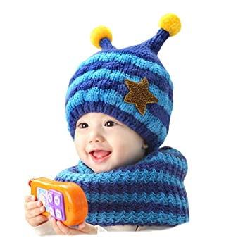 Amazon.com: Gemini Hada Elegante Stripe hecho a mano Crochet ...