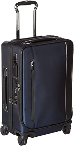 TUMI – Arriv International Dual Access 4 Wheeled Carry-On Luggage – 22 Inch Rolling Suitcase for Men and Women – Navy