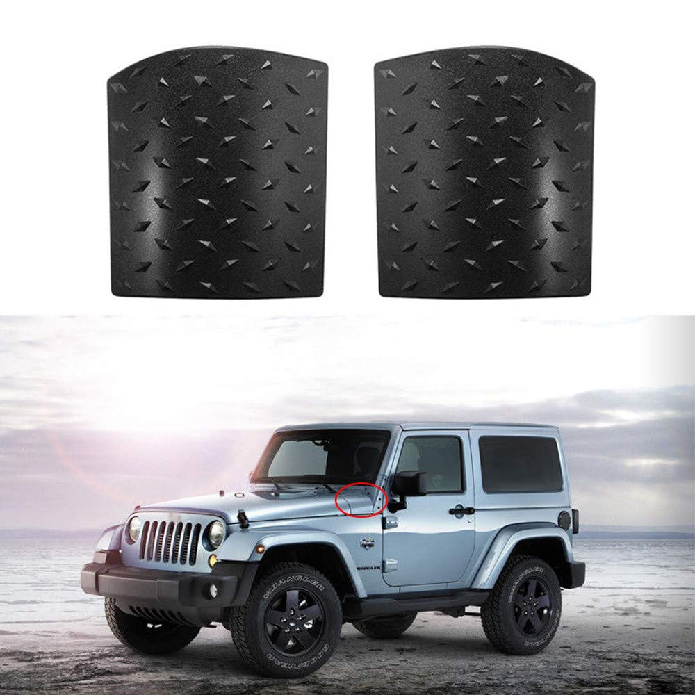 HYFIX Black Cowl Body Armor Outer Cowling Corner Guard Cover for Jeep Wrangler JK /& Unlimited Rubicon Sahara Sport X /& Unlimited 2//4 Door 2007-2018