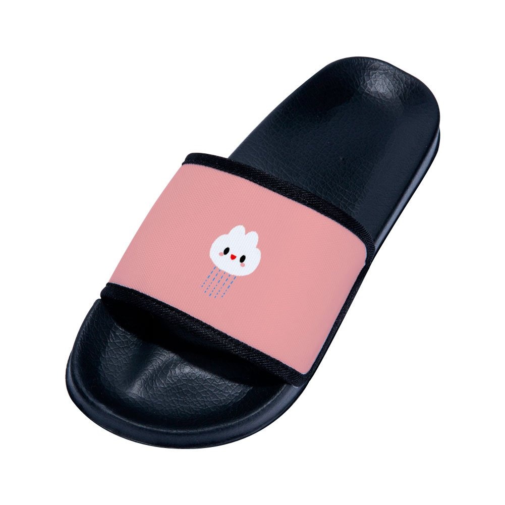 Chad Hope Boys Girls Anti-Slip Bath Slippers Bathroom Slippers Shower Shoes Gym Slippers Little Kid//Big Kid