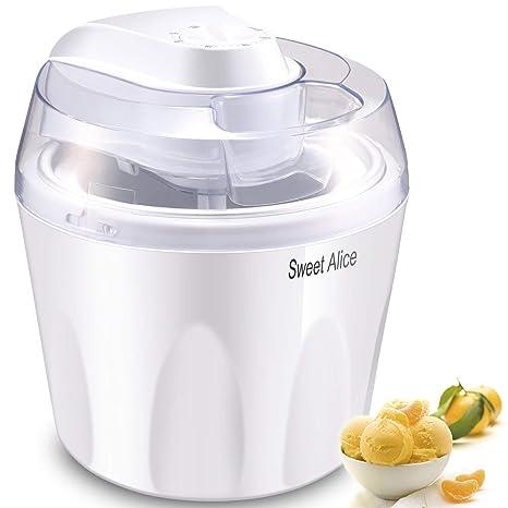 Maquina Para Hacer Helados Electrica Yogurt Sorbetes Facil Rapido-1.5 Cuartos