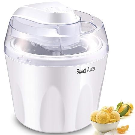 Máquina para hacer helados, Sweet Alice de 1,5 litros, máquina ...