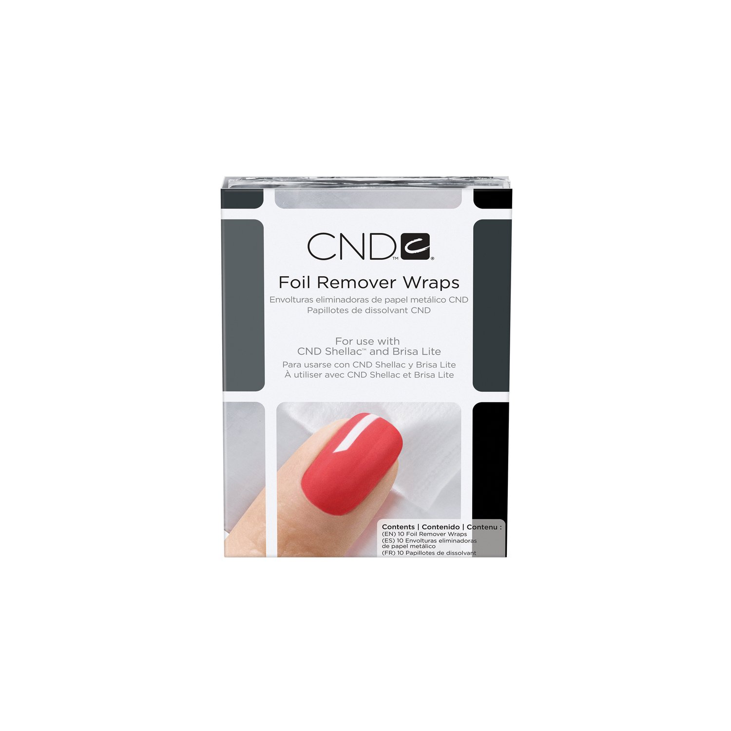 CND Nail Shellac Removal Kit (10 pieces) C40235