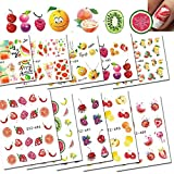 POYING 1 Sheets Cute DIY Beauty Fruit Decals for Nail Art Decorations Nail Sticker Water Tattoos Colorful Tips CHSTZ461-496