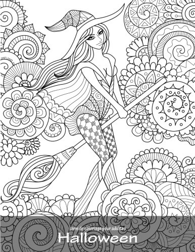 Livre de coloriage pour adultes Halloween 1 (Volume 1) (French Edition)
