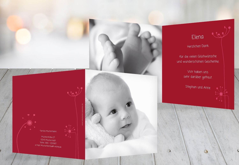 Kartenparadies Danksagung für Geburt Baby Dankeskarte Dankeskarte Dankeskarte abstrakte Blaumen, hochwertige Danksagungskarte Baby inklusive Umschläge   100 Karten - (Format  145x145 mm) Farbe  Orange B01N6WW0BX | Haben Wir Lob Von Kunden Gewonnen  | Günstigstes  | E 42b419