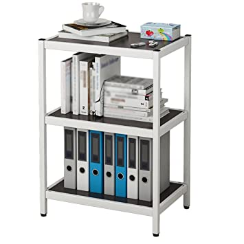 Amazon.de: Bücherregale WSSF Stand-Multi-Layer Simple Modern Locker ...
