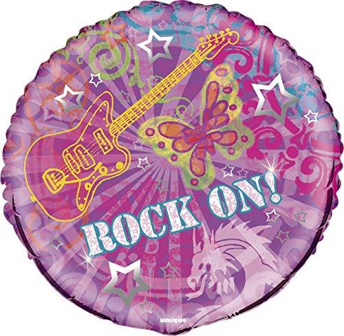 18'' Rock On Mylar Balloon
