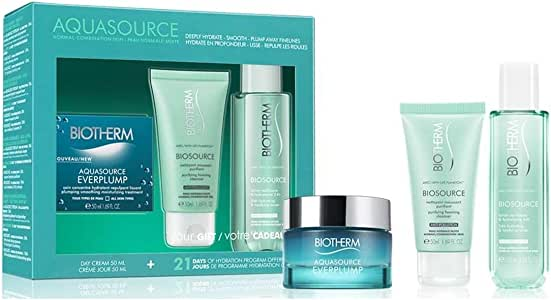 Biotherm Aquasource Everplump Tratamiento Facial - 3 Unidades: Amazon.es: Belleza