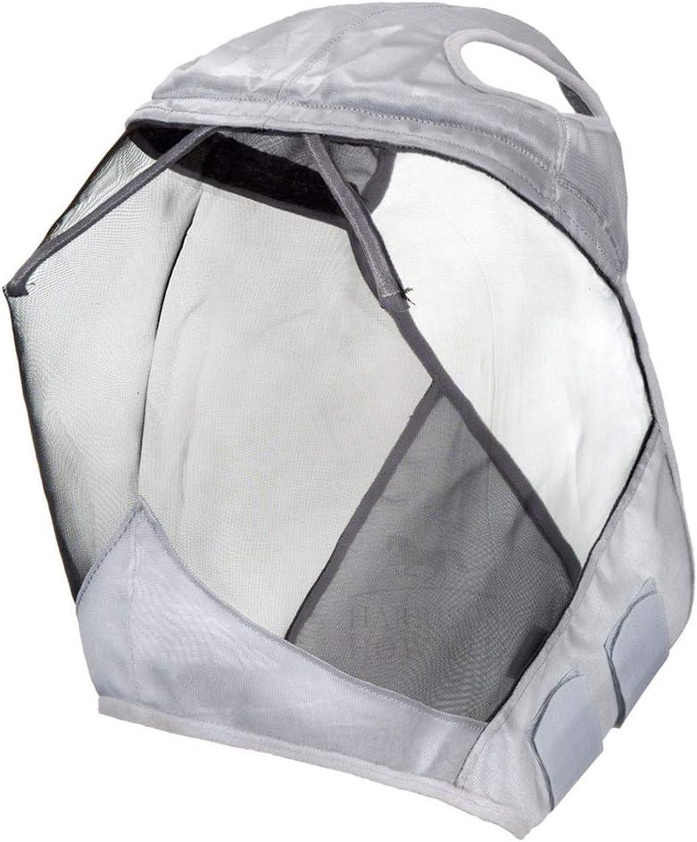 Harrison Howard CareMaster Fly Mask Standard Silver//Black Retro S; Pony