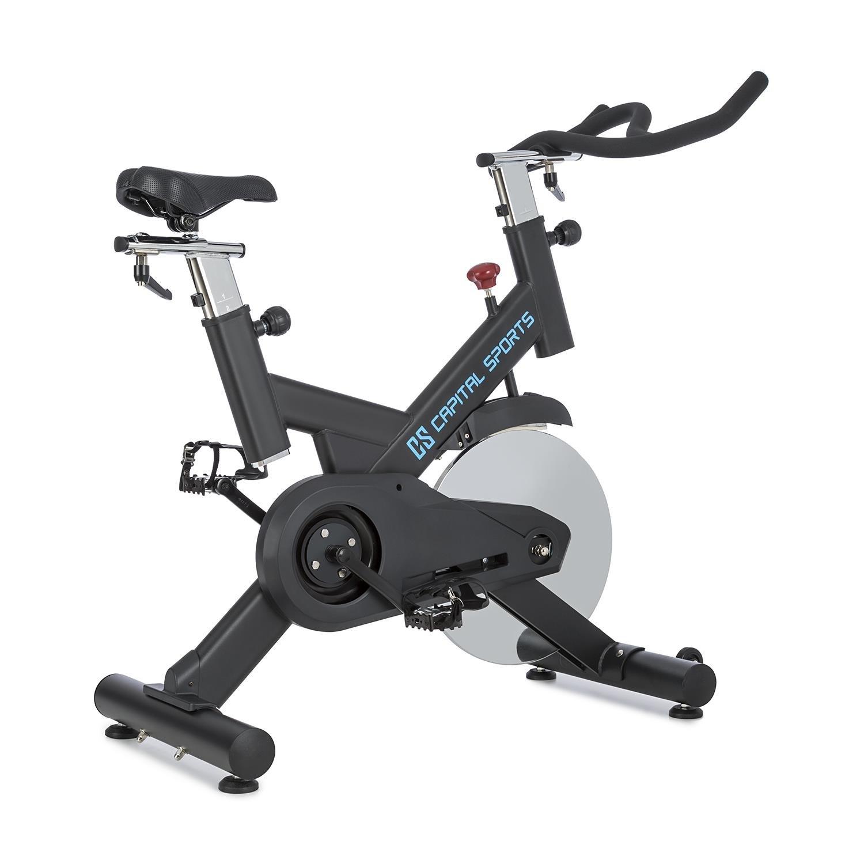 Capital Sports Radical Arc - X13 oder Pro 18 • Ergo Bike • Indoor Bike • Fahrradergometer • Heimtrainer • bis 120 kg • Schwungscheibe mit 13 kg oder 18 kg • schwarz