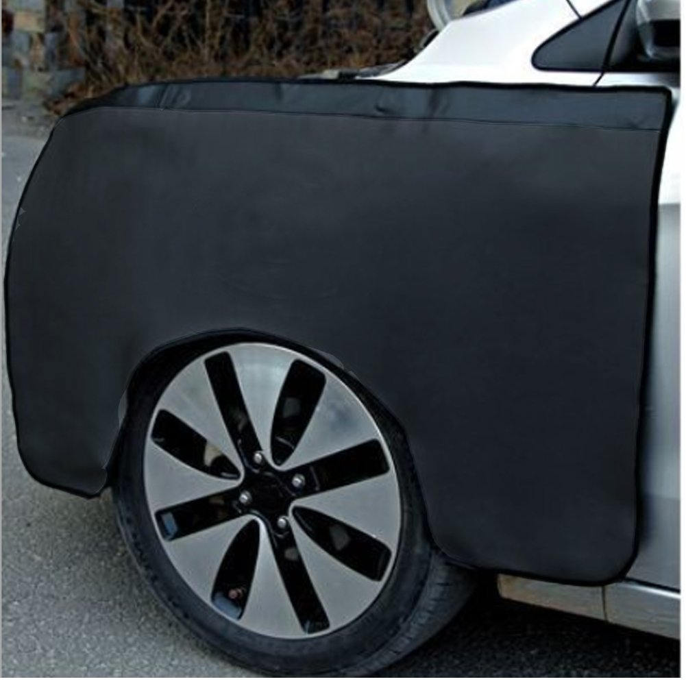 """Car Magnetic Fender Cover Car Fender Cover Premium 40.2/"""" X 26.8/"""" PU Fender Cover Set 4 Strong Magnetic Protector Gripper Automotive Mechanic Work Mat For Scratching Prevention Kit"""