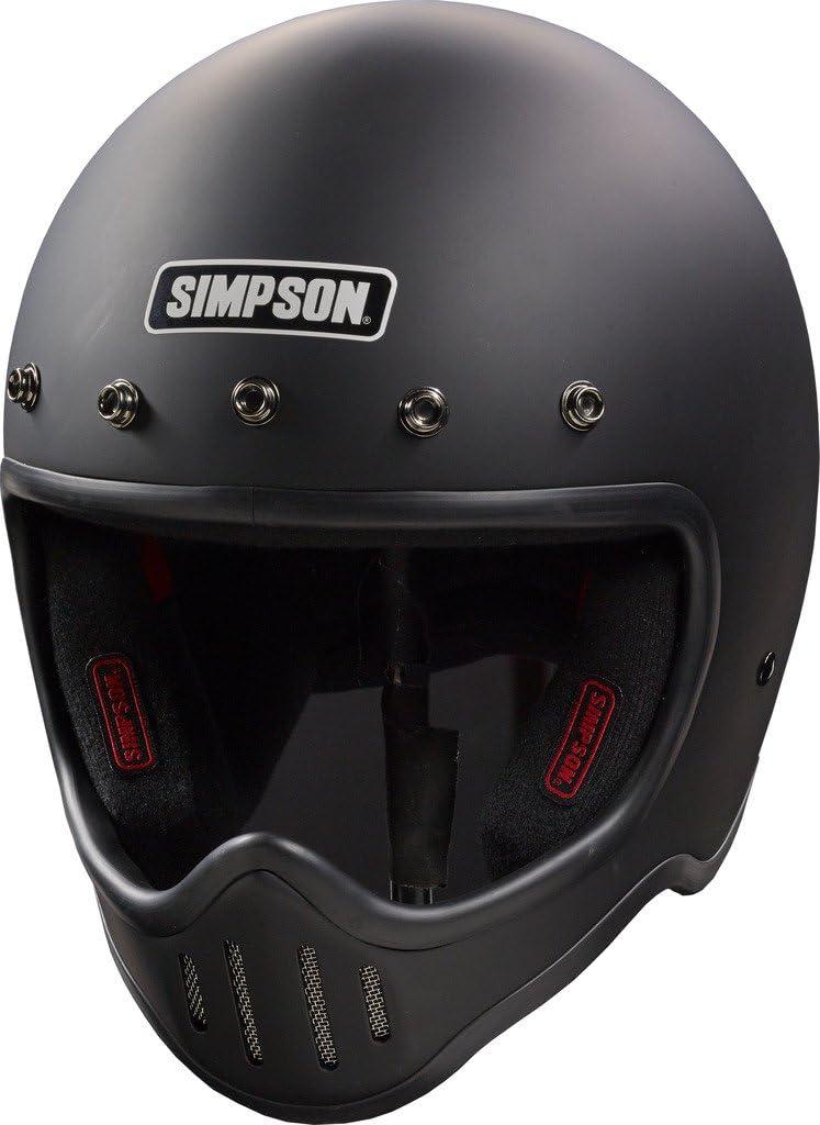 SIMPSON M50DS3 Model 50 Dot Black Bombing new work M. Deluxe Helmet Small