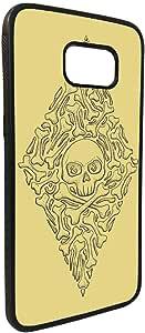 كفر جالكسي  اس 7  بتصميم - عظام و جمجمة