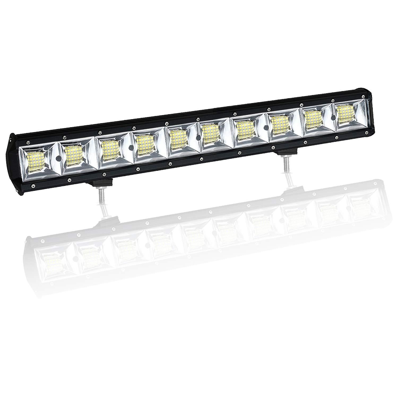 10PCS 5 inch 96W Fila cu/ádruple 10D LED luz de trabajo Barra Flood Beam DC 12V-24V veh/ículos todoterreno 4x4 Atvs Utvs Barco