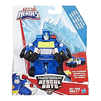 Playskool Heroes Transformers Rescue Bots Chase The Police-Bot: Toys & Games