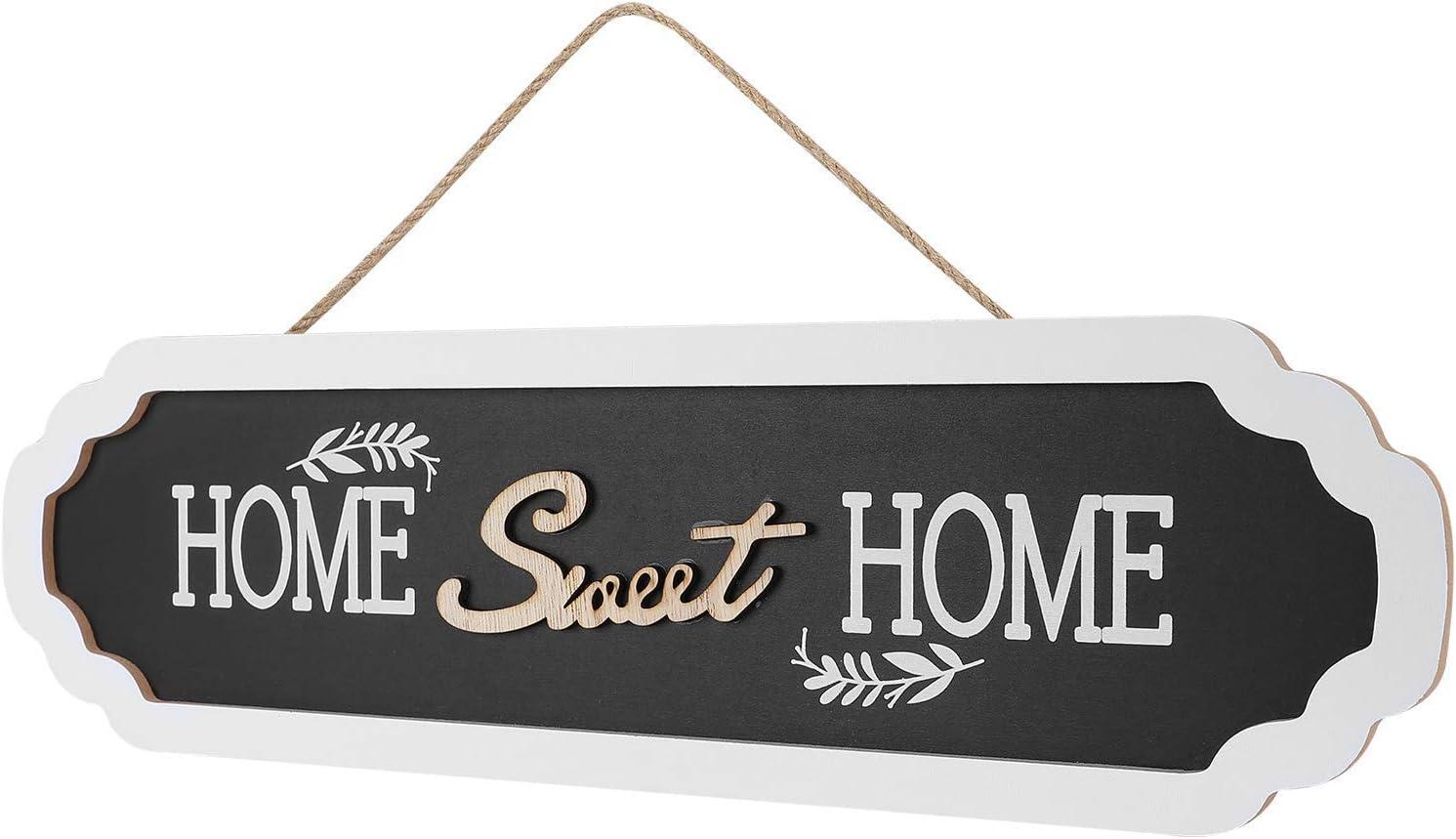 Lohifor Home Sweet Home Sign Wall Decor - Wall Hanging Home Sweet Home Decor Sign, 4.6