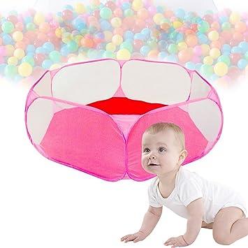 Kinder Spielzelt Babyzelt Pop Up Play Tent Kind Foldable Ballpool b ...
