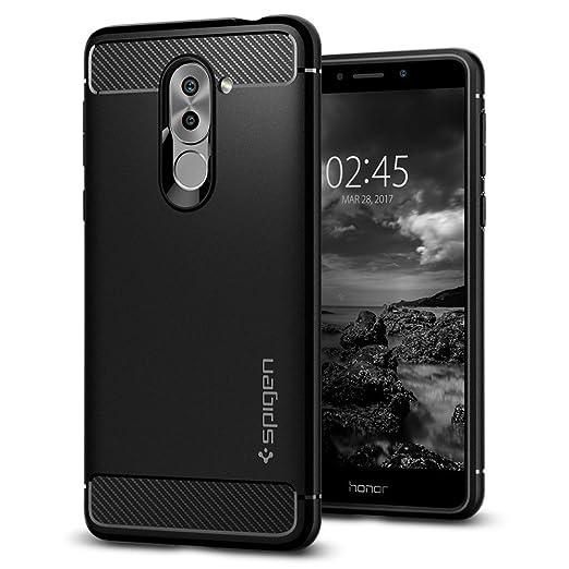 54 opinioni per Cover Huawei Honor 6X, Spigen [Rugged Armor] Impressionante Black [Design