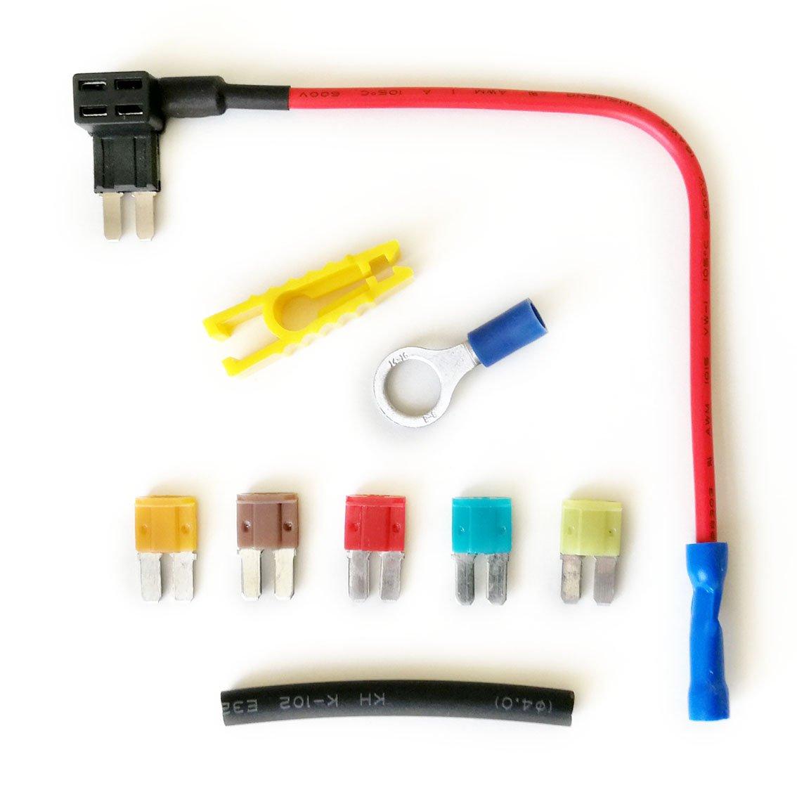 Huckepack-Sicherungshalter zum Hinzufü gen weiterer Stromkreise, 12/24 V PRC
