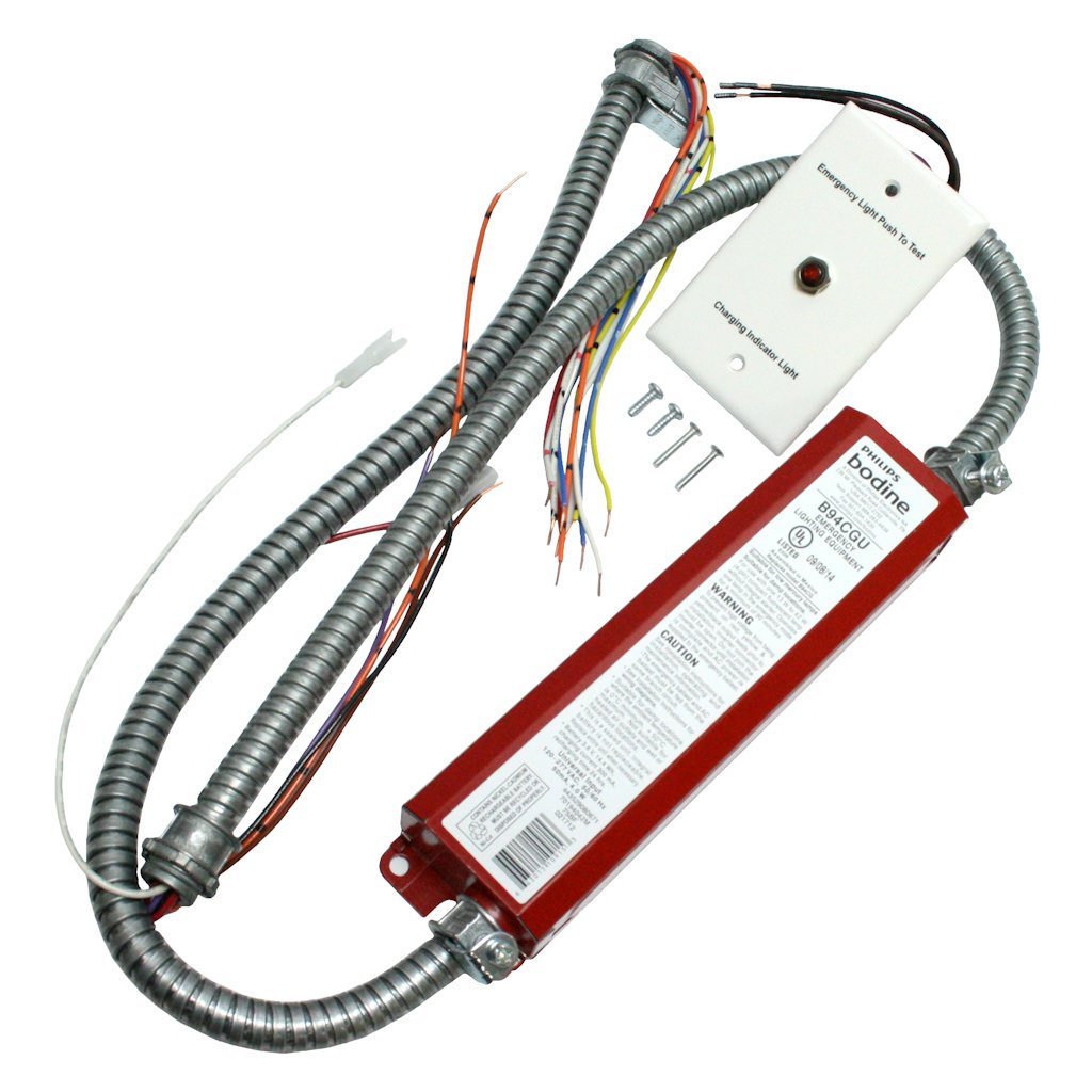 BDL94C Bodine Emergency Backup Battery - 90 min. - Operates 1 13-42W or 2 13-39W 4-Pin Twin Quad or Triple Twin-Tube CFL Lamps without Integral Starter - 120/277 Volt by Bodine