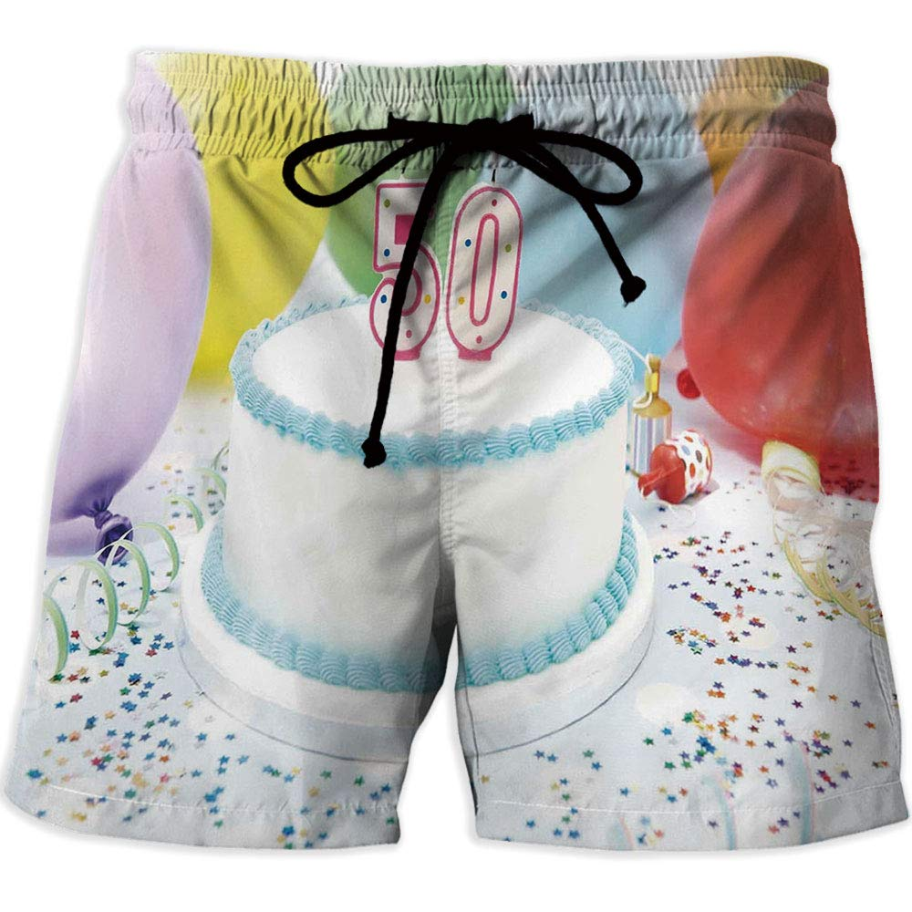 4th of July Decor,Athletic Shorts iPrint Mens Outdoor Active Quick Dry Hiking Shorts