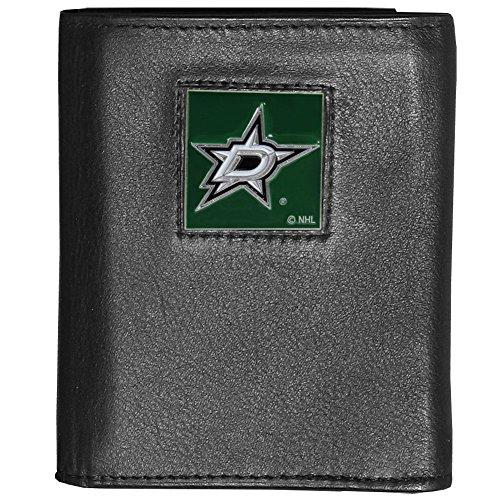 NHL Dallas Stars Genuine Leather Tri-fold Wallet