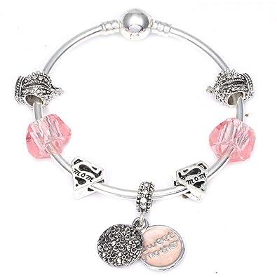 dessins attrayants sélectionner pour le meilleur la clientèle d'abord GSYDSZ Mode Douce mère pendat Breloques Bracelets pour Les ...