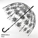フルトン FULTON バードケージ かさ 傘 フローラル 正規品証明タグ 英国王室御用達 花柄 フラワー Floral Birdcage L042 AC