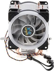 perfk 4 Cables, Ventilador Doble, Ventilador De CPU, Radiador ...