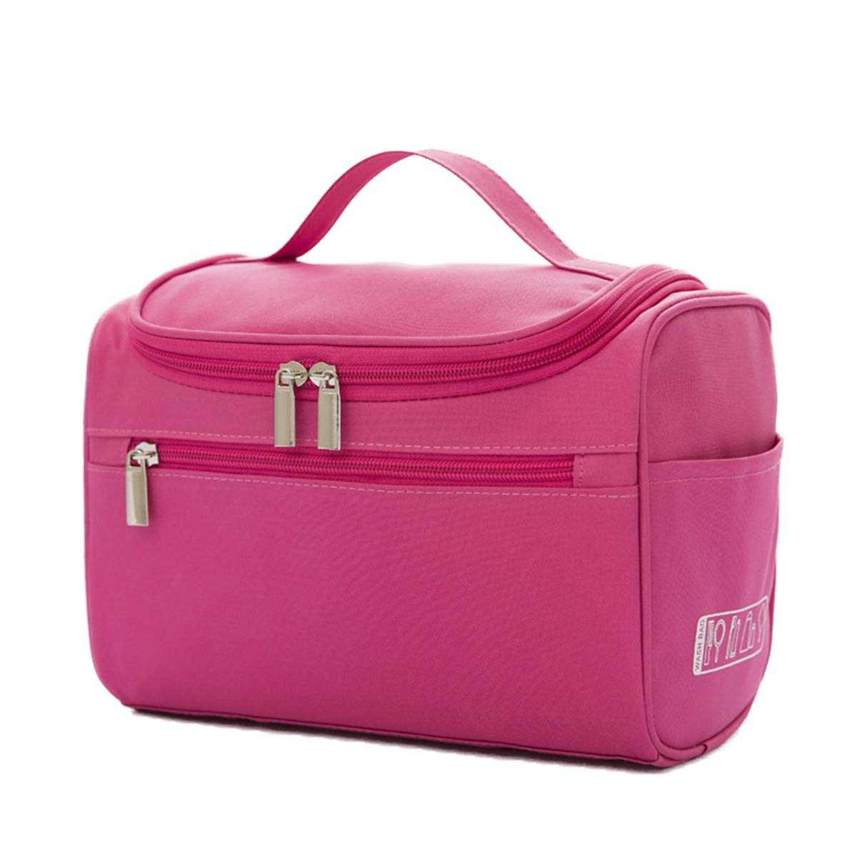 DIFLY, Beauty Case Rosso Rose Red