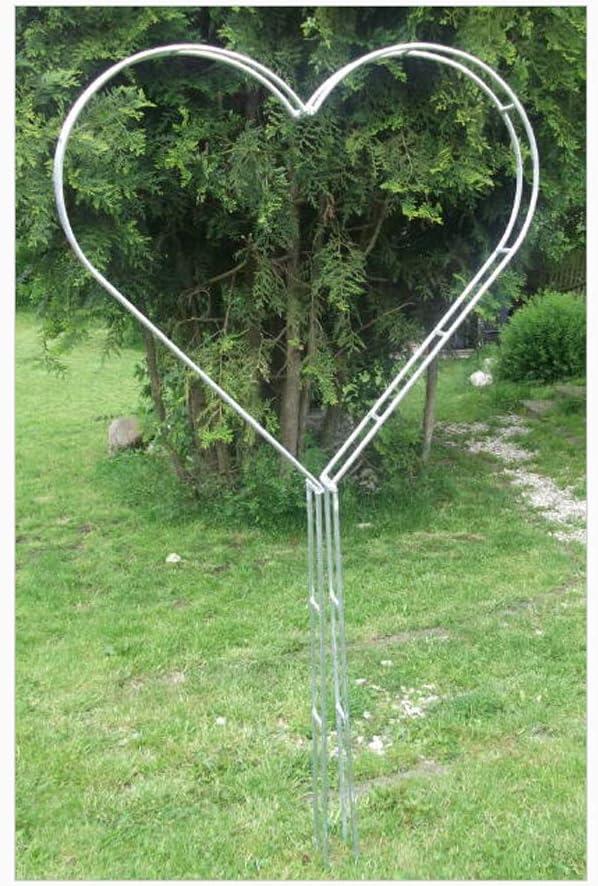 EQT-TEC - Pérgola para Plantas trepadoras (170 cm, oxidada): Amazon.es: Jardín