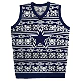 NFL Dallas Cowboys Ugly Sweater, Aztec Pattern, Medium