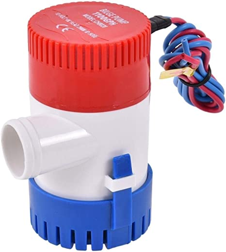 Boat Marine Submersible Float Switch 12 Amp With Stainless Steel Mounting Hardwa