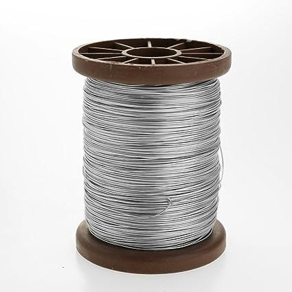 Decdeal - 0.5KG Carretes de Alambre para la Apicultura de Acero Inoxidable Eje de Herramienta Especial Apícola para Sujetar Colmenas de Abejas